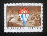 Poštovní známka Maďarsko 1971 Výročí FIR Mi# 2681