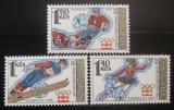 Poštovní známky Československo 1976 ZOH Innsbrusk Mi# 2305-07 Po# 2187-89
