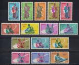 Poštovní známky Guinea 1962 Hudební nástroje Mi# 113-27 Kat 22€