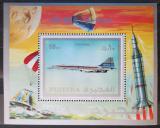 Poštovní známka Fudžajra 1971 Concorde Mi# Block 43