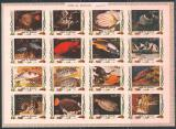 Poštovní známky Umm al-Kuvajn 1972 Ryby neperf. Mi# 1306-21 B Kat 25€