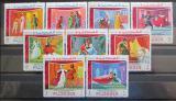 Poštovní známky Fudžajra 1969 Shakespearovy hry Mi# 311-19