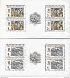 Poštovní známky Československo 1987 Bratislavské motivy Mi# 2928-29 Bogen Po# 2812-13 PL