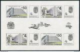 Poštovní známky Československo 1988 Praha Mi# Block 85 Po# 2857 A