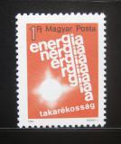 Poštovní známka Maďarsko 1984 Šetření energiemi Mi# 3668