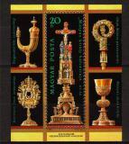 Poštovní známky Maďarsko 1987 Státní klenoty Mi# Block 188