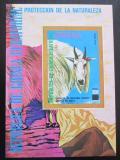 Poštovní známka Rovníková Guinea 1977 Horská koza Mi# Block 272