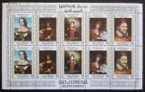 Poštovní známky Aden 1967 Umění Mi# 62-66 Bogen