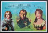 Poštovní známka Čad 1971 Napoleon Mi# Block 17 Kat 10€
