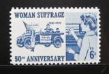 Poštovní známka USA 1970 Volební právo pro ženy Mi# 1008