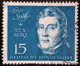 Poštovní známka Německo 1959 Louis Spohr, skladatel Mi# 316 Kat 7.50€