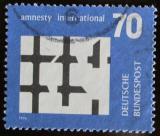 Poštovní známka Německo 1974 Amnesty International Mi# 814