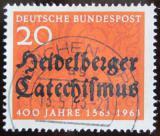 Poštovní známka Německo 1963 Heidelberský katechismus Mi# 396
