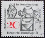 Poštovní známka Německo 1965 Ilustrace, M. Claudius Mi# 462