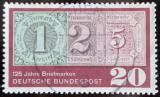 Poštovní známka Německo 1965 Výročí prvních známek Mi# 482