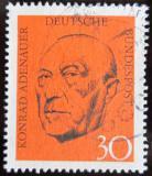 Poštovní známka Německo 1968 Konrad Adenauer Mi# 567