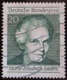 Poštovní známka Německo 1969 Marie-Elisabeth Luders Mi# 597