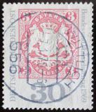 Poštovní známka Německo 1969 Známka Bavorska Mi# 601