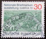 Poštovní známka Německo 1970 Výstava SABRIA Mi# 619