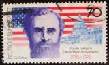 Poštovní známka Německo 1976 Americká revoluce Mi# 895