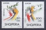 Poštovní známky Albánie 1995 Evropa CEPT Mi# 2556-57