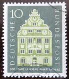 Poštovní známka Německo 1957 Architektura Mi# 279