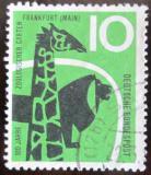 Poštovní známka Německo 1958 Frankfurtská ZOO Mi# 288