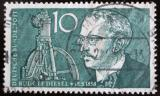 Poštovní známka Německo 1958 Rudolf Diesel Mi# 284