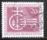 Poštovní známka Německo 1955 Bitva na Lechfeldu Mi# 216 Kat 10€