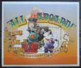 Poštovní známka Guyana 1996 Disney, Mickey Mouse Mi# Block 513