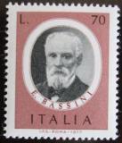 Poštovní známka Itálie 1977 Eduardo Bassini, chirurg Mi# 1576
