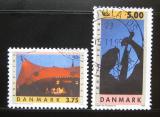 Poštovní známky Dánsko 1995 Festivaly Mi# 1105-06