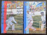 Poštovní známky Bermudy 2002 Kriket Mi# 822-23