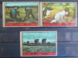 Poštovní známky Manáma 1972 Umění Mi# 1076-78