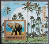 Poštovní známka Manáma 1972 Slon africký neperf. Mi# Block 182 B Kat 8.50€