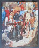 Poštovní známka Umm al-Kuvajn 1972 Umění, Memling, velikonoce Mi# Block 39