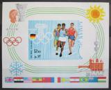 Poštovní známka Adžmán 1969 LOH Mnichov neperf. Mi# Block 195 B Kat 26€