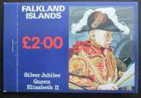 Sešitek Falklandské ostrovy1977 Stříbrné jubileum Kat $20.50