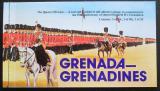Sešitek Grenada Gren 1977 Vojenské uniformy, korunovace královny