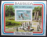 Poštovní známka Barbuda 1984 LOH Los Angeles Mi# Block 85
