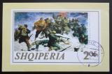 Poštovní známka Albánie 1969 Umění, Fatmir Haxhiu Mi# Block 47