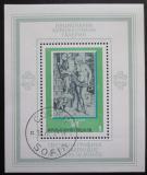 Poštovní známka Bulharsko 1975 Umění Mi# Block 58