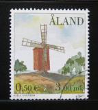 Poštovní známka Alandy 2001 Větrný mlýn Mi# 192