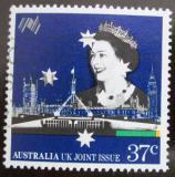 Poštovní známka Austrálie 1988 Královna Alžběta II. Mi# 1115