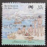 Poštovní známka Austrálie 1988 Australská kolonizace Mi# 1074