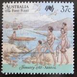 Poštovní známka Austrálie 1988 Australská kolonizace Mi# 1075