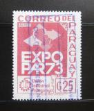 Poštovní známka Paraguay 1973 Výstava EXPOPAR Mi# 2464