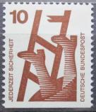 Poštovní známka Německo 1974 Prevence nehod Mi# 695 D
