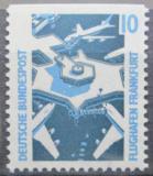 Poštovní známka Německo 1988 Letiště Frankfurt Mi# 1347 C