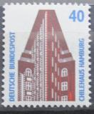 Poštovní známka Německo 1988 Čilský dům, Hamburg Mi# 1379